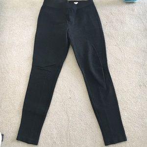 J crew pixie pants dark heather gray 8